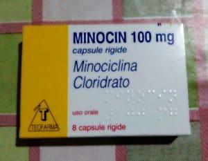 Minocin minociclina