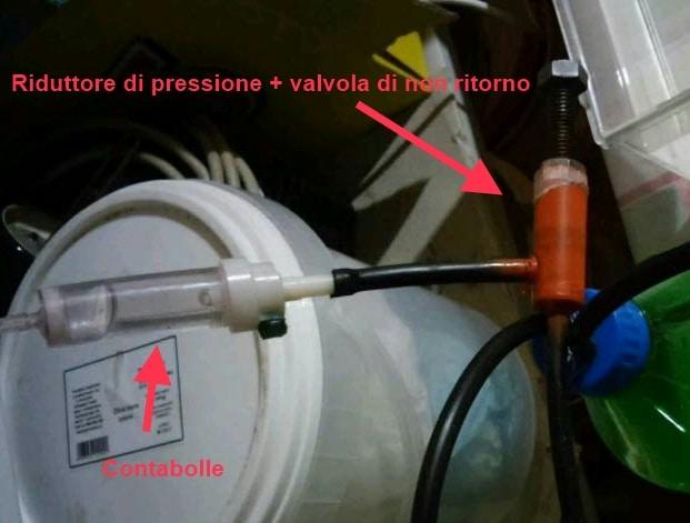 Riduttore Pressione CO2 Fai da te